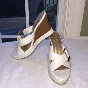 Barely worn Chaps Wedge Sandals